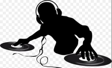 silhoutte DJ